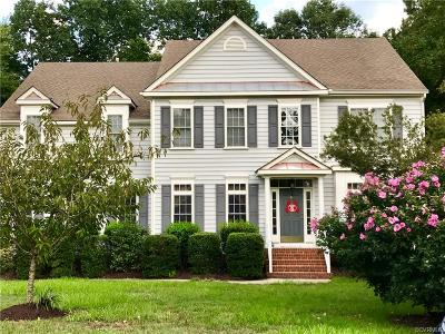 Mechanicsville Single Family Home For Sale: 9530 Stone Spring Drive