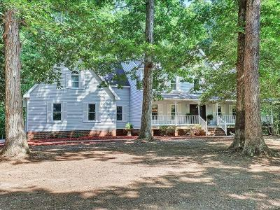 Goochland County Single Family Home For Sale: 1747 Fox Downs Lane