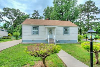 Henrico Single Family Home For Sale: 1516 Brigham Road