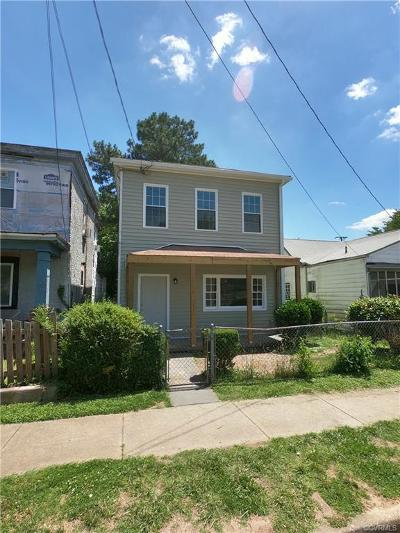 Richmond Single Family Home For Sale: 2910 Lawson Street