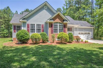 South Chesterfield Single Family Home For Sale: 4332 River Road