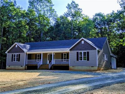 Powhatan Single Family Home For Sale: 3672 Jefferson Landing Road