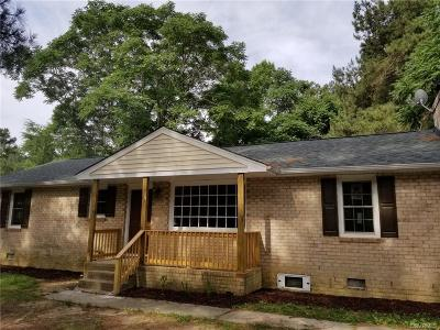 Chesterfield Single Family Home For Sale: 17506 Kathleen Court