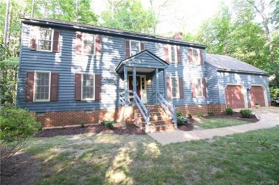 Chesterfield Single Family Home For Sale: 3609 Stoney Ridge Road