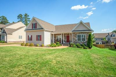 Chesterfield Single Family Home For Sale: 10836 Willow Hill Court