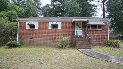 Dinwiddie County Single Family Home For Sale: 25009 Sterling Road
