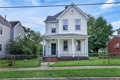 Richmond Single Family Home For Sale: 303 W Roberts Street