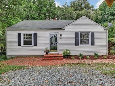 Richmond Single Family Home For Sale: 7113 Brigham Road