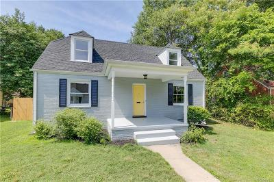Richmond Single Family Home For Sale: 3709 Moody Avenue