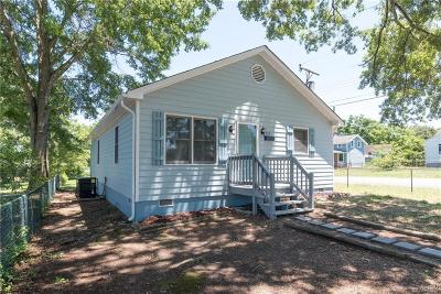 Petersburg Single Family Home For Sale: 357 Summit Street