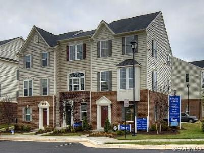 Chesterfield Condo/Townhouse For Sale: 513 Crofton Village Trace #CD