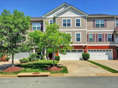 Midlothian Condo/Townhouse For Sale: 546 Abbey Village Circle #546