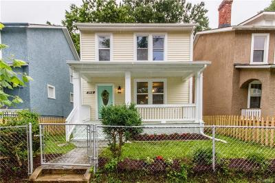Richmond Single Family Home For Sale: 2018 2nd Avenue