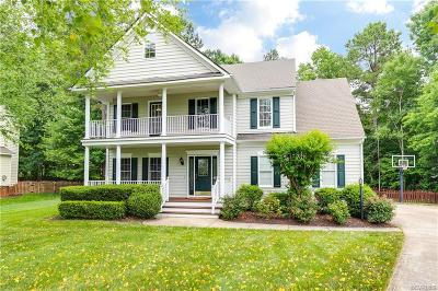 Single Family Home For Sale: 15606 Moss Light Place