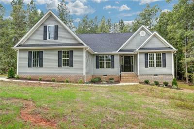 Chesterfield Single Family Home For Sale: 9819 Adkins Village Lane