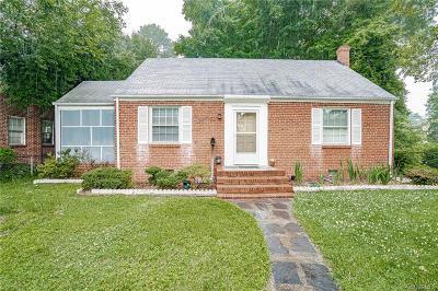 Henrico Single Family Home For Sale: 2928 Dumbarton Road