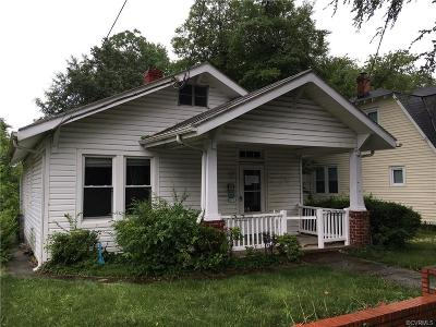 Richmond Single Family Home For Sale: 3082 Decatur Street