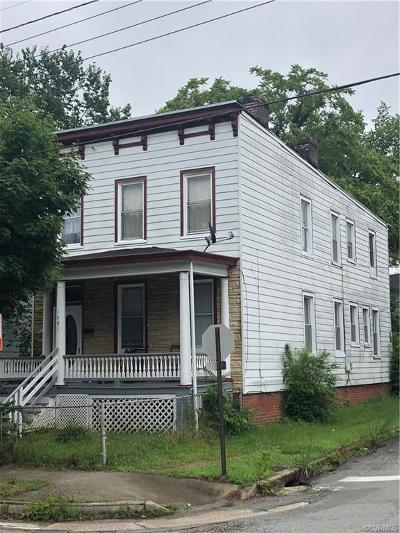 Richmond Single Family Home For Sale: 1201 N 35th Street