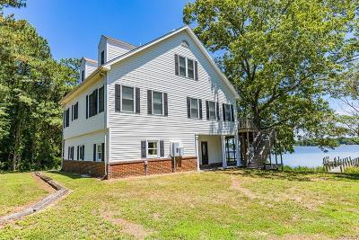 Heathsville Single Family Home For Sale: 1468 Cedar Point Road
