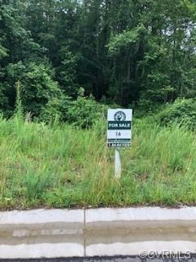 Chesterfield Land For Sale: 7513 Dunollie Drive