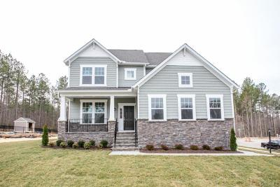 Chesterfield Single Family Home For Sale: 15619 Wolfboro Road