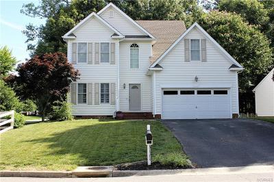 Glen Allen Single Family Home For Sale: 10824 Hinton Court