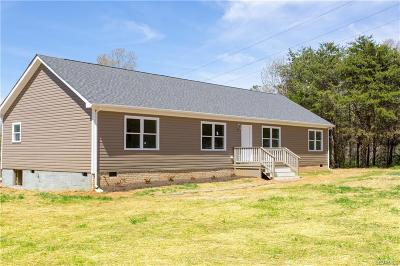 Powhatan Single Family Home For Sale: 2345 Mountain View Road