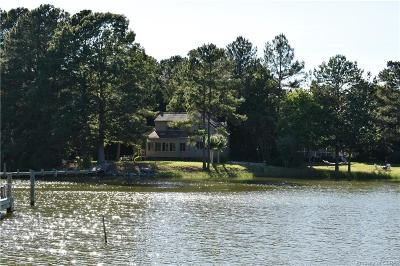 Mathews Single Family Home For Sale: 317 Woodas Creek Road