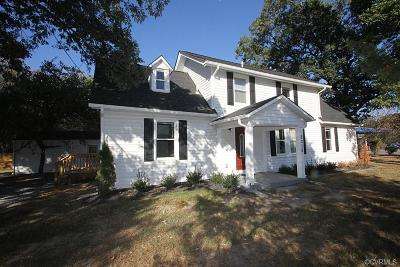 Henrico Single Family Home For Sale: 2210 Charles City Road