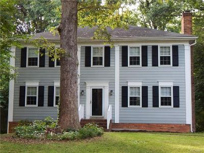Single Family Home For Sale: 8208 Capelwood Drive
