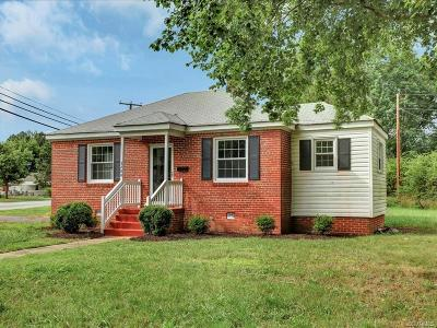 Henrico Single Family Home For Sale: 3200 Winchester Street