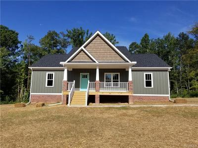 Goochland Single Family Home For Sale: 2788 Hadensville Fife Road