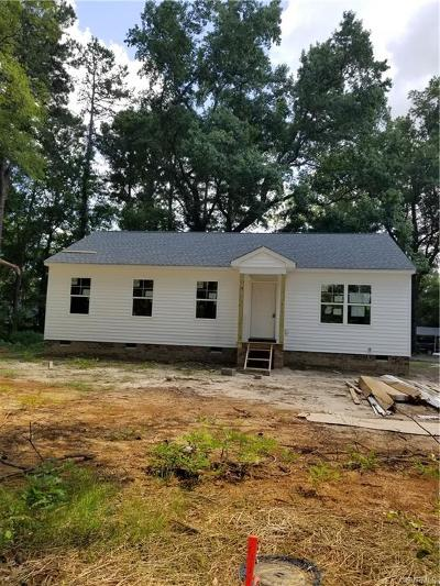 Henrico Single Family Home For Sale: 1670 Old Oakland Road