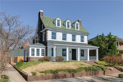 Richmond Single Family Home For Sale: 2624 Idlewood Avenue