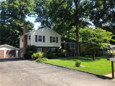 Chesterfield Single Family Home For Sale: 3524 Bellbluff Drive
