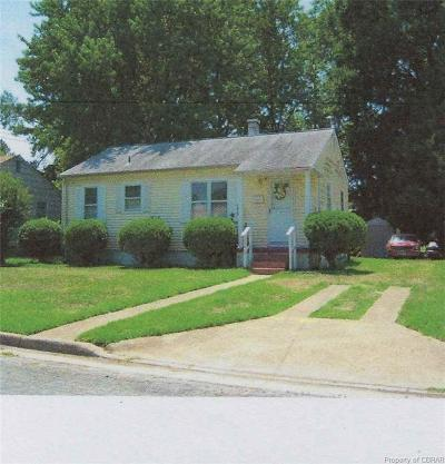 Hampton Single Family Home For Sale: 106 Hickory Hill Road