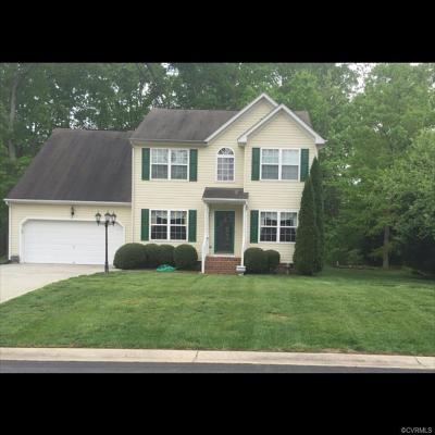Chesterfield VA Single Family Home For Sale: $288,500