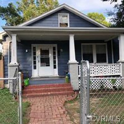 Richmond Single Family Home For Sale: 1400 Columbia Street