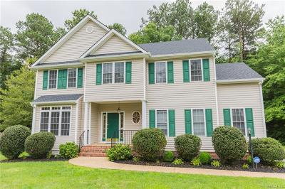 Chester Single Family Home For Sale: 613 Fairway Woods Drive