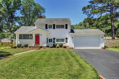 Henrico Single Family Home For Sale: 9804 Dacono Drive