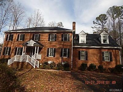 North Chesterfield VA Single Family Home Pending: $364,900