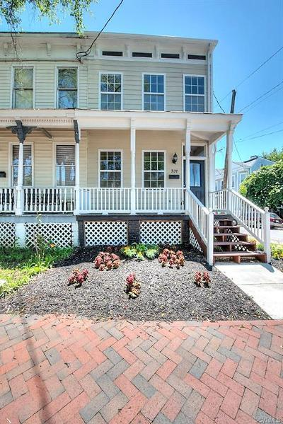 Richmond Single Family Home For Sale: 701 N 21st Street