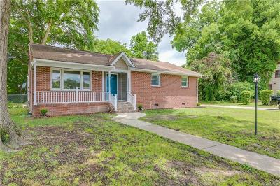 Petersburg Single Family Home For Sale: 1647 Stuart Avenue