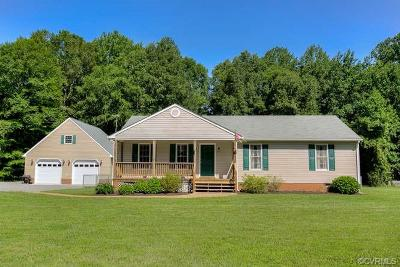 King William County Single Family Home For Sale: 5599 Dabneys Mill Road