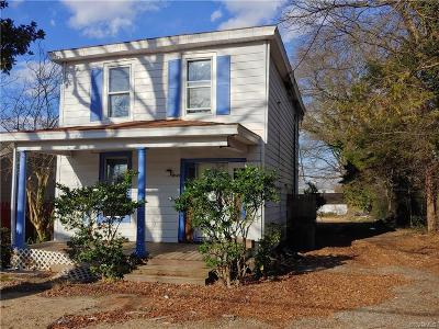Richmond Single Family Home For Sale: 4526 Britannia Road
