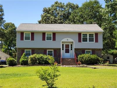 Chester Single Family Home For Sale: 9737 Graves Road