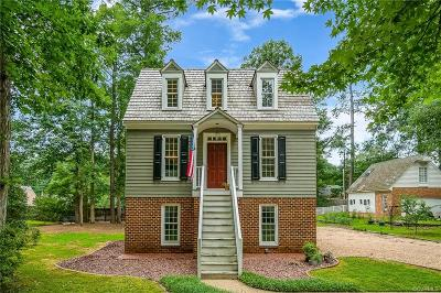 Chesterfield Single Family Home For Sale: 9800 Cole Mill Road