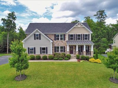Single Family Home For Sale: 16712 Hampton Farms Court