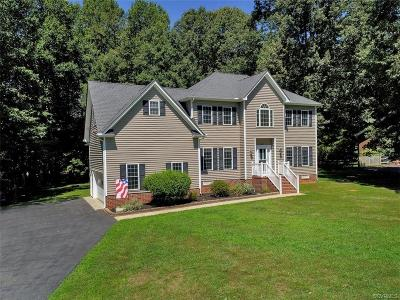 Powhatan County Single Family Home For Sale: 1421 E Overlook Drive
