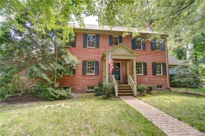 Henrico Single Family Home For Sale: 101 Rose Hill Road
